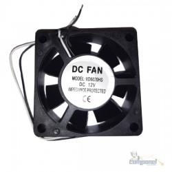 Cooler Micro Ventilador 60x60x25mm 12v